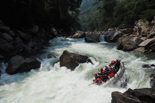 Rafting Río Samaná