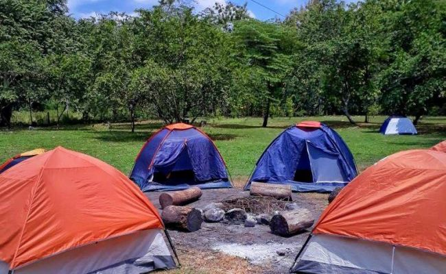 Zona de camping.