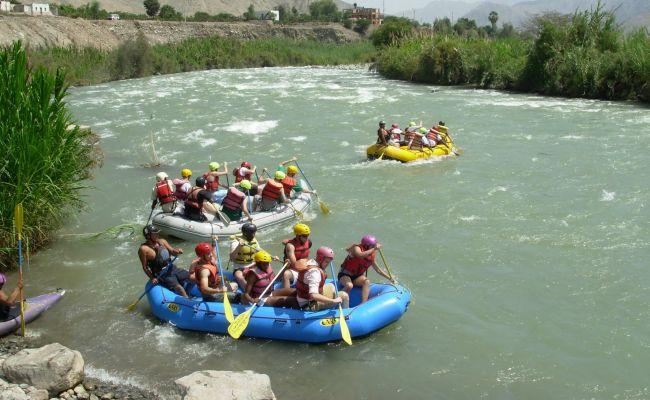 Rafting - Equipos de trabajo.