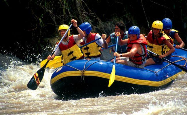 Rafting en Utica.