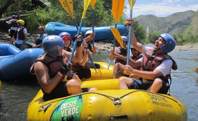 Rafting en Tobia