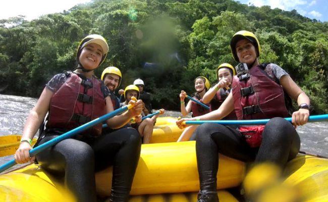 Rafting en Tobia.