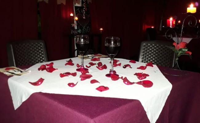 Cena romántica.